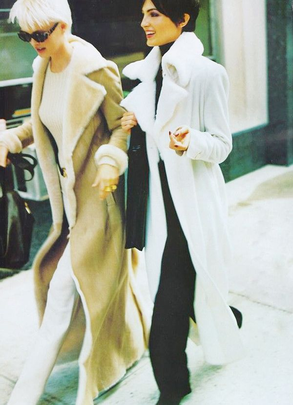32. A duster coat looks cool over just about anything.