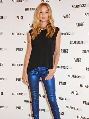 Rosie Huntington-Whiteley Shares Her Secrets for Night-Out Dressing