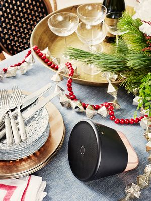 4 Festive Rooms Get Remixed With This Savvy Music Player