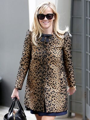 It Doesn't Get Any Sweeter Than Reese Witherspoon's Leopard Coat