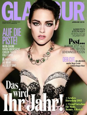 Kristen Stewart's Sultry Cover For Glamour Germany