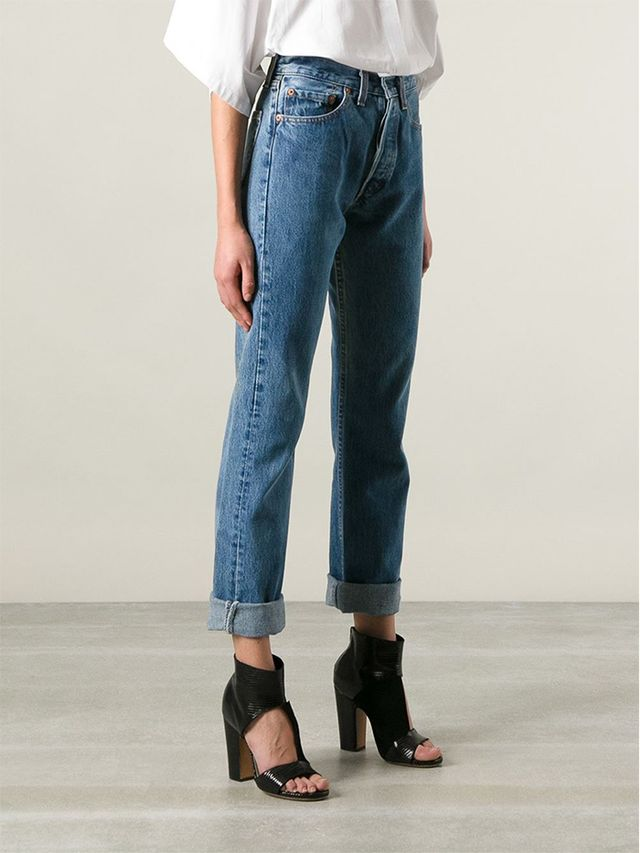 which vintage levi 39 s jeans cut is the most flattering for. Black Bedroom Furniture Sets. Home Design Ideas