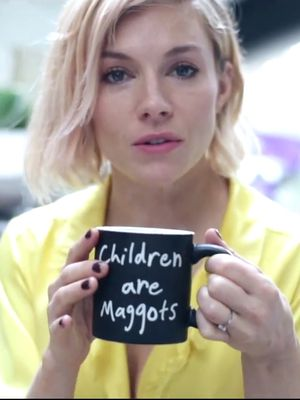 Sienna Miller's Life as a (Slightly Deranged) New Age Mom