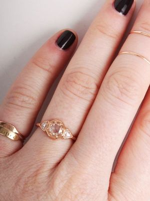 16 Subtle Engagement Rings for Girls Who Don't Love Bling