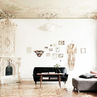 See a Swedish Home Oozing With Romance