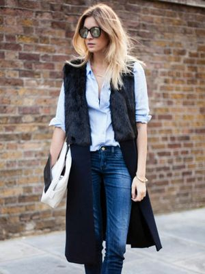 Would You Wear It? The Sleeveless Coat Trend