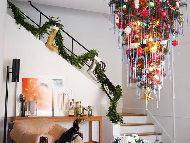 How NOT To Hang Your Christmas Tree Upside-Down (A Real