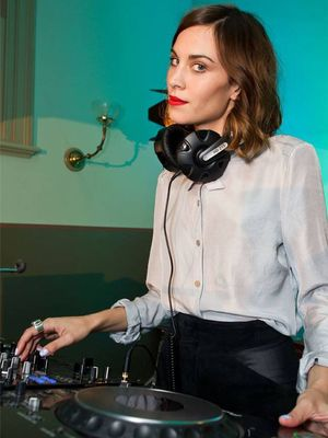 "Why Alexa Chung Thinks She's a ""Selfish DJ"""
