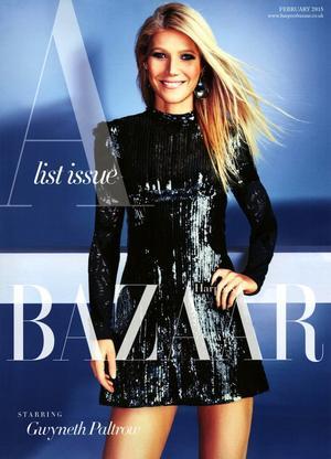 First Look: Gwyneth Paltrow For Harper's Bazaar UK