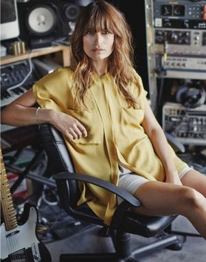 Caroline de Maigret's Effortless Spread For Net-A-Porter's The Edit