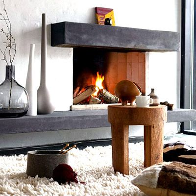 9 Fireplaces You'll Totally Swoon Over