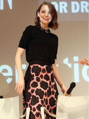 Recreate Emma Stone's Perfectly Feminine Look