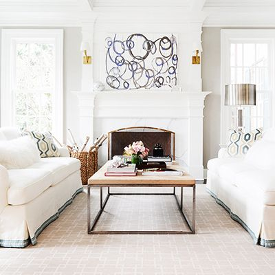 Home Tour: A Preppy Connecticut House With Ladylike Details