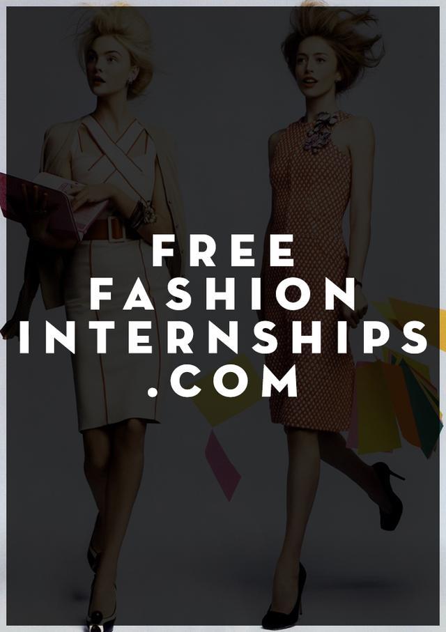 Free Fashion Internship Com