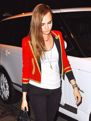 Have to Have It: Cara Delevingne's Band Jacket