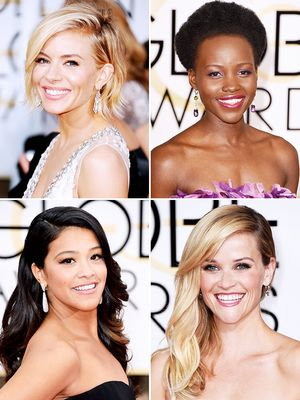 The MOST Stunning Beauty Looks from the 72nd Annual Golden Globes