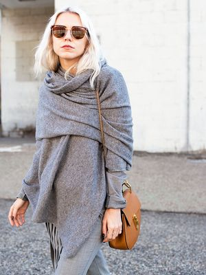 The Coolest Way to Wear Your Scarf (With Step-By-Step Instructions)