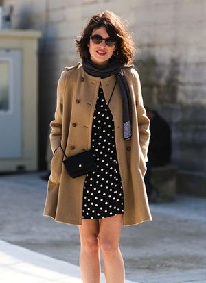 7 Ultra-Cool Ways to Wear Polka Dots