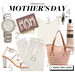 Opt For Chic, Airy Neutrals This Mother's Day