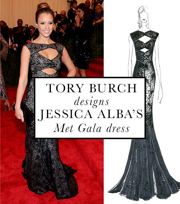The Story Of A Dress: Jessica Alba's Exclusive Met Ball Diary