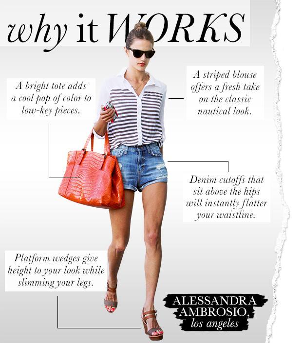 Alessandra Ambrosio's Leggy Look Earns Major Style Points