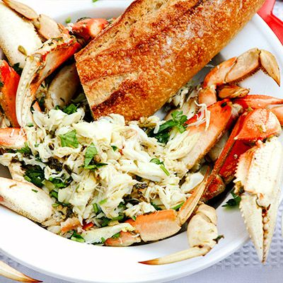 Ali Larter Shares Her Decadent Dungeness Crab Dish