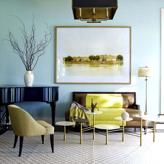 9 of the Most Beautiful Blue Rooms We've Ever Seen