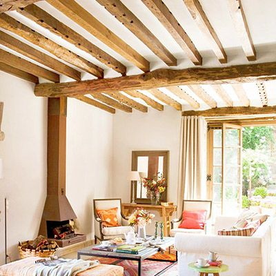 19 Interiors With Spellbinding Ceiling Beams