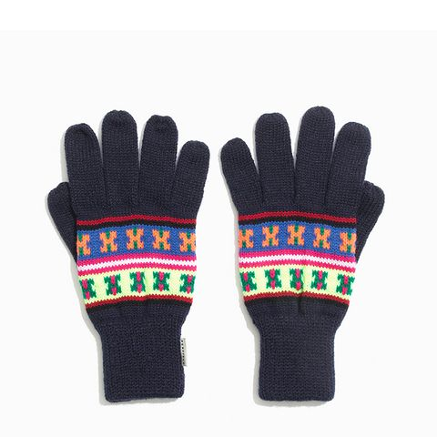 Neon Pattern Gloves