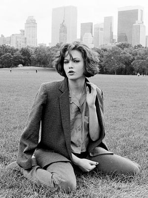 #TBT: Diane Lane Makes Us Long For a Menswear-Inspired Wardrobe