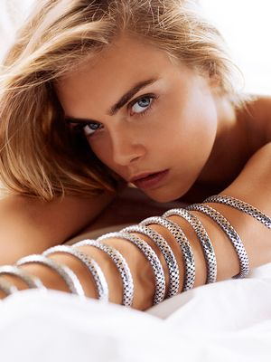 Cara Delevingne's Nearly Naked Photos for John Hardy Are Stunning
