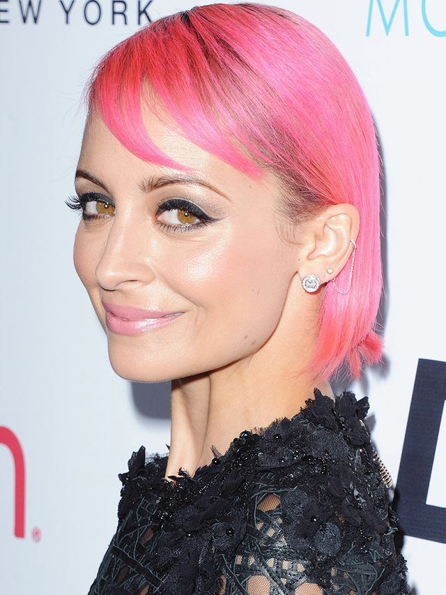 And Nicole Richie's Latest Hair Colour Is...