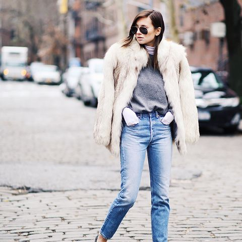 How Olivia Palermo Keeps Warm in Frigid Temperatures forecast dress for autumn in 2019