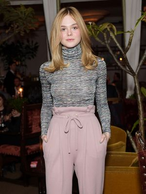 Elle Fanning Gives Off Some Serious '70s Vibes in Rodarte