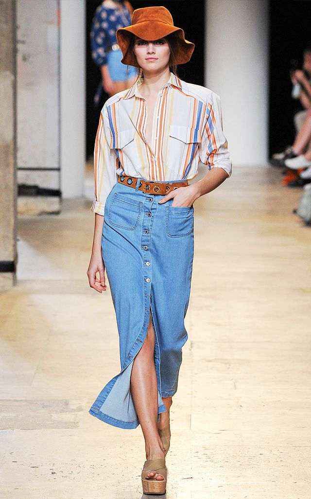 Meet Spring's Biggest Denim Trend