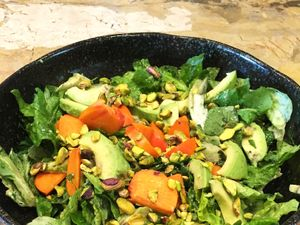 Darby Stanchfield's Persimmon and Pistachio Salad
