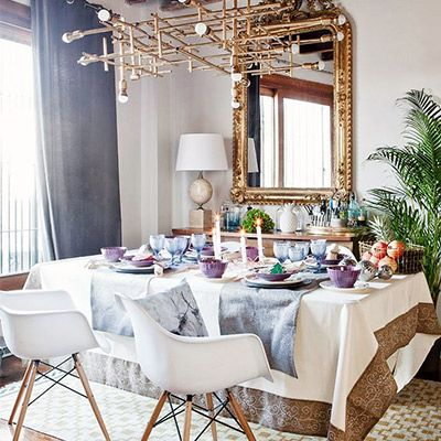 Tour a Cozy-Glam Family Apartment in Madrid