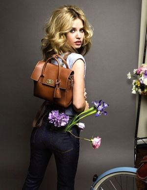 Georgia May Jagger Stars in Mulberry's S/S 2015 Campaign