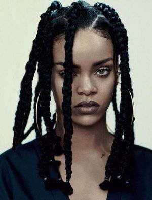 First Look: Rihanna For i-D Magazine's Music Issue