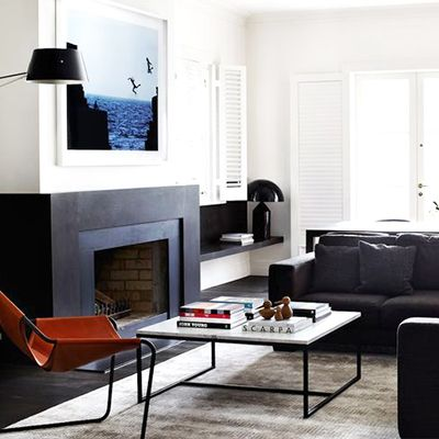 Tour an Austere But Inviting Monochrome Home