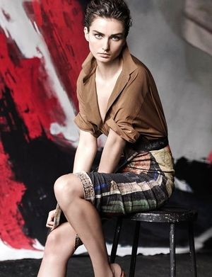 Andreea Diaconu Is The Face Of Donna Karan's S/S 2015 Campaign