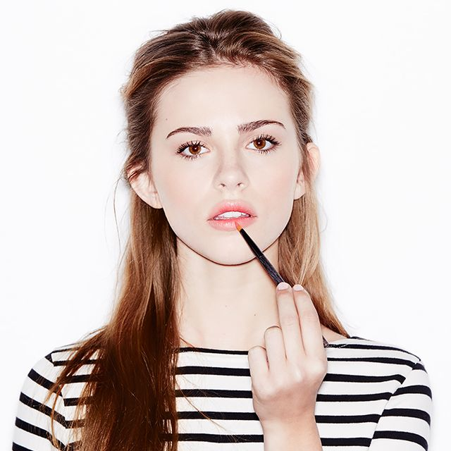 A 3-Step Tutorial for Spring's Coolest Look: The Blurred Lip