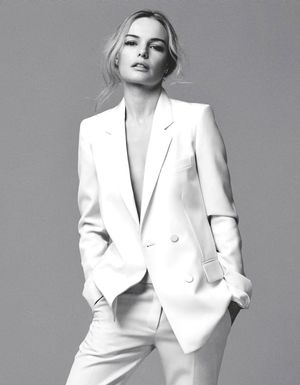 Kate Bosworth Stuns In Minimal White Looks For Marie Claire UK