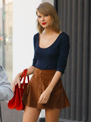 Taylor Swift's '70s-Inspired Corduroy Skirt Is Only $26!