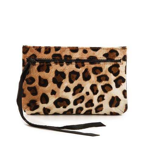 Haircalf Leopard Pouch