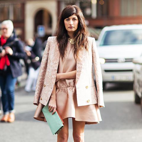 2. Matching Blazer + Dress