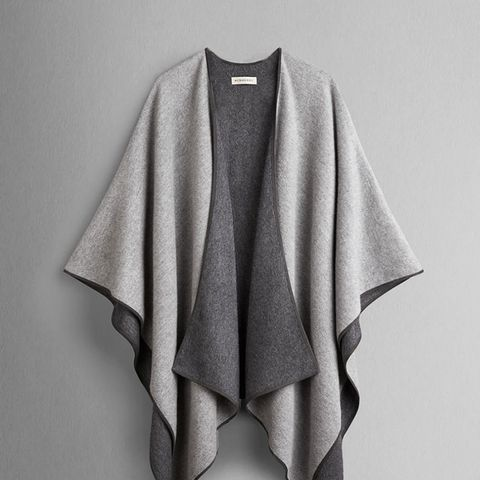 Double Faced Cashmere Wrap