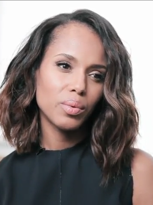 Kerry Washington Shares Her Trick for Keeping a Secret