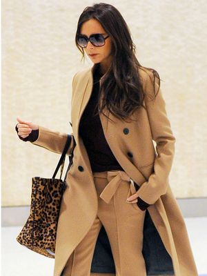 Victoria Beckham Takes Airport Dressing to a Whole New Level of Chic