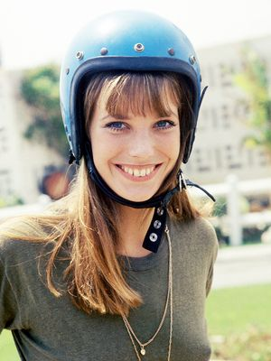 Safety First: Our Favorite Fashion Babes in Helmets